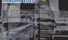 Program divadla AU január 2020