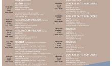 Program divadla AU február 2020