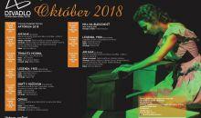 Program divadla AU október 2018