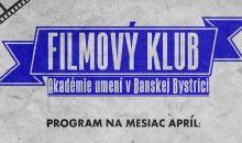 Program filmového klubu apríl 2019
