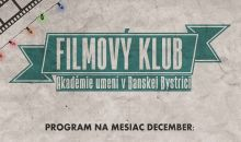 Program filmového klubu december 2018