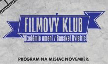 Program filmového klubu november 2018