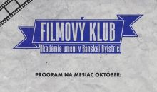 Program filmového klubu október 2018