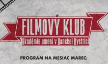 Program filmového klubu marec 2019